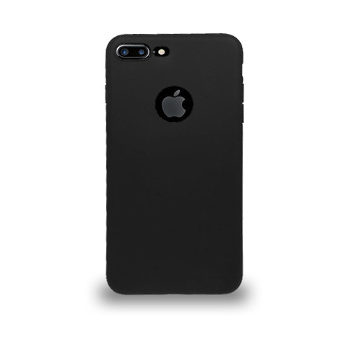 Jelly Skin Case for Iphone 7/8 Plus Black