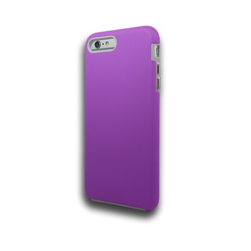 Rush hybrid case  for iphone 7/8 purple-gray