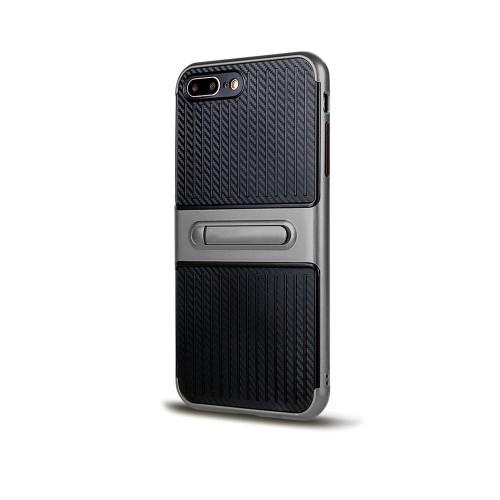 Traveler Hybrid Case with Kickstand for iPhone 5 | SE Titanium