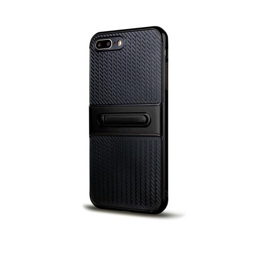 Traveler Hybrid Case with Kickstand for Samsung J3 prime 2017 Black