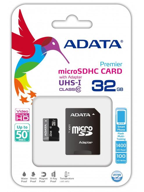ADATA MicroSDXC 32 GB Class10