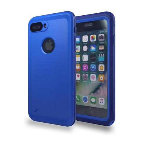 Waterproof Heavy Duty Guard Case For iPhone 7/8 Blue