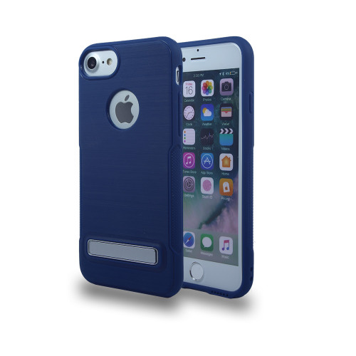 Noskid Sikin Case with Kickstand for LG LV3 Navy