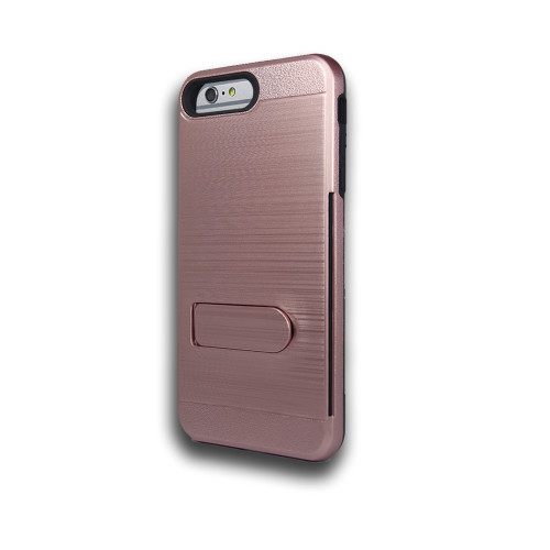 ID Ultrathin Hybrid Case with Kickstand for LG K20 Rose Gold