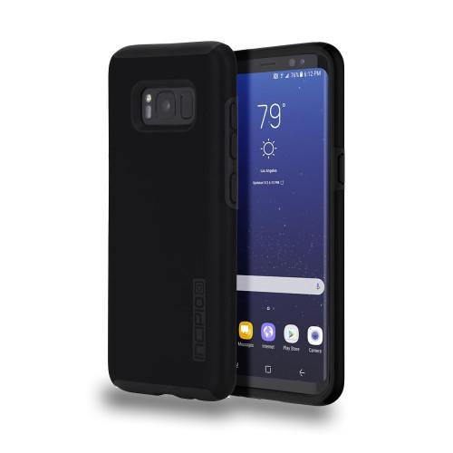 INCIPIO - DualPro Case for Samsung Galaxy S8  Black/Black