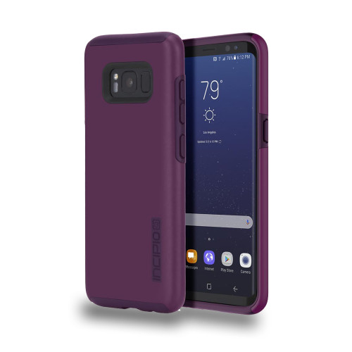 INCIPIO - DualPro Case for Samsung Galaxy 8 Plus Plum