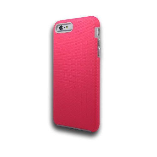 Rush hybrid case  for  Samsung Galaxy S8 Plus  Hot Pink-Gray
