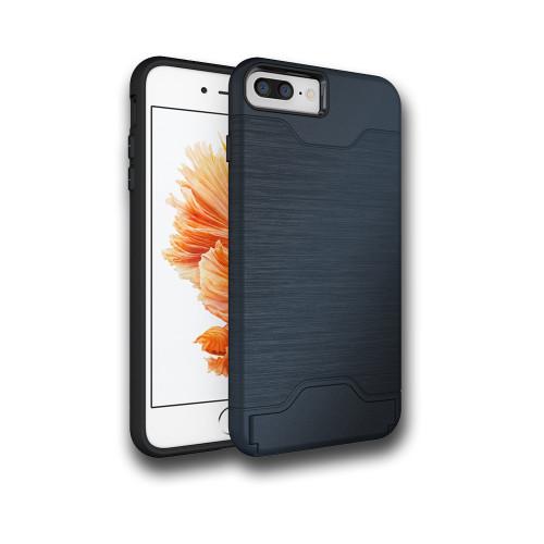 Editor Hybrid CC Case with Kickstand for Samsung Galaxy S8 Plus Black
