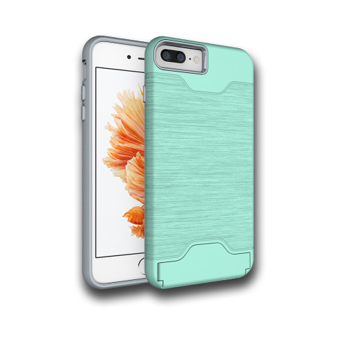 Editor Hybrid CC Case with Kickstand for Samsung Galaxy S8 Plus Mint