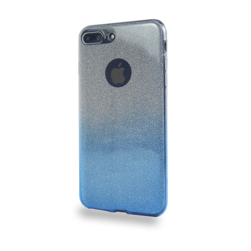 Glitter TPU Case for Samsung Galaxy J7 Blue
