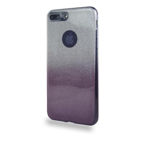 Glitter TPU Case for Samsung Galaxy J7 Burgundy