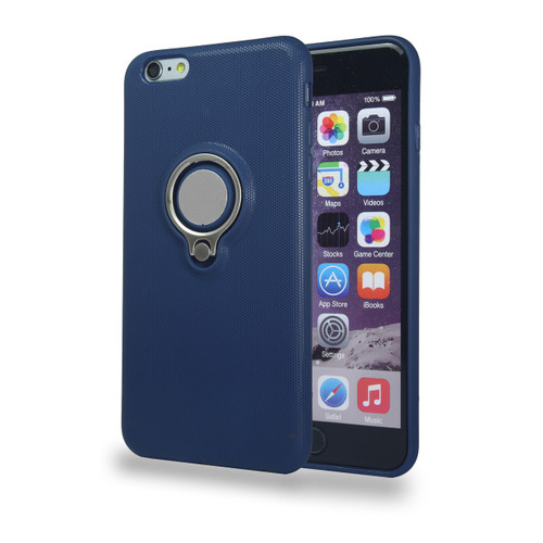 Coolring Skin Case with Kickstand for iPhone 6 Navy