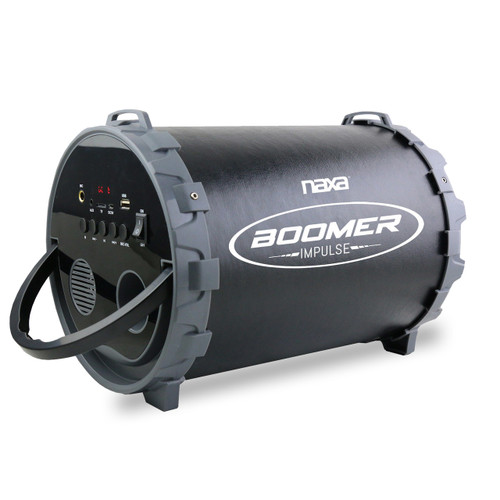 Naxa Boomer Impulse PA Bluetooth Boombox with LED Lights