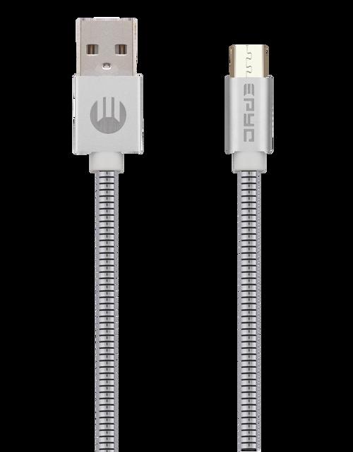 Epyc metal series usb to micro usb Silver