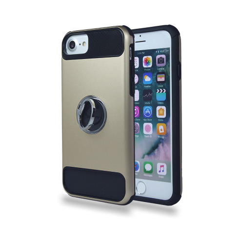 Ring case for iPhone 10 gold