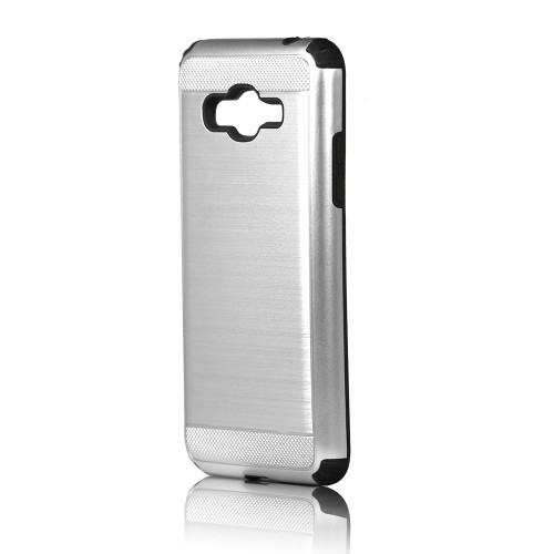 Brush case for J5 2017  Silver