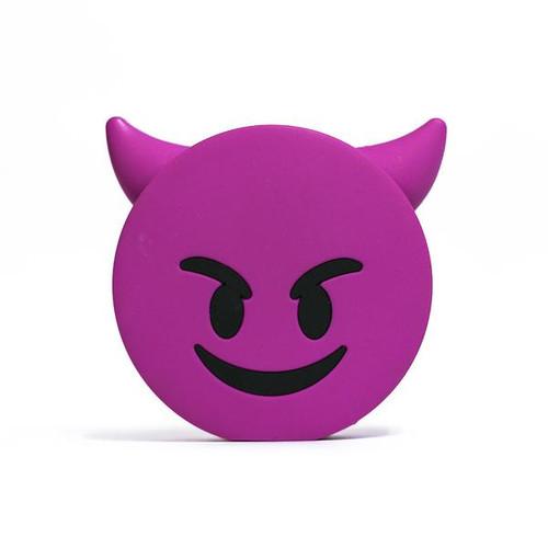 Emoji power bank devil