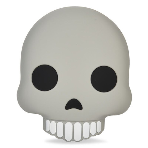 Emoji power bank skull