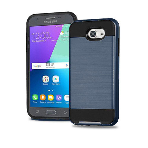 slim jacket hybrid case for LG K20 PLUS blue-black