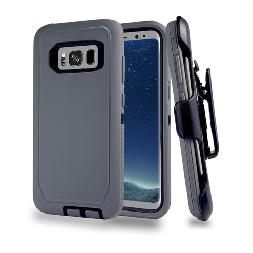 Sports Guard Case with Holster Combo for Iphone Xs max (MIX COLORS)