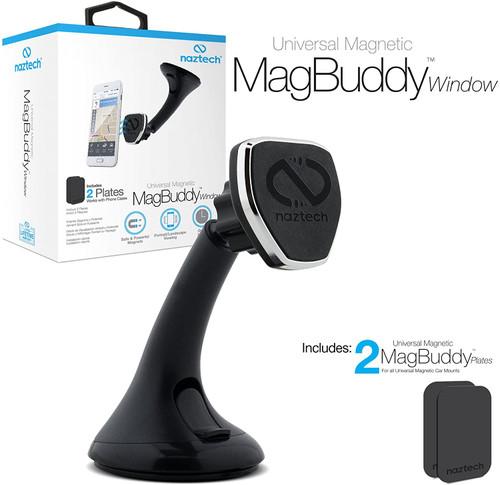 Naztech MagBuddy Car Windshield Phone Mount