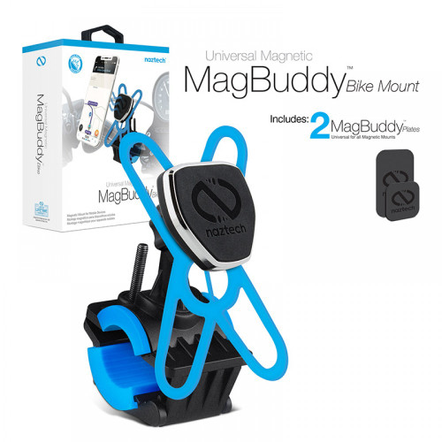Naztech MagBuddy Universal Magnetic Cell Phone Holder BIKE