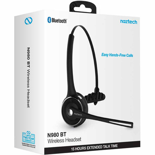 Naztech N980 Bluetooth Wireless Headset with Base