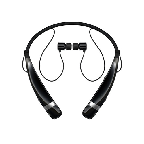 857261bd197 LG HBS-760 AGEUBK BLUETOOTH WIRELESS STEREO HEADSET BLACK - eWirelessUSA