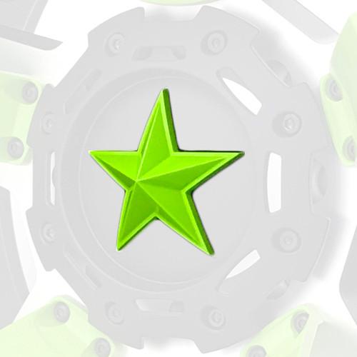 XD Series By KMC Wheels Center Star Emblem XDSTAR-GN-PK