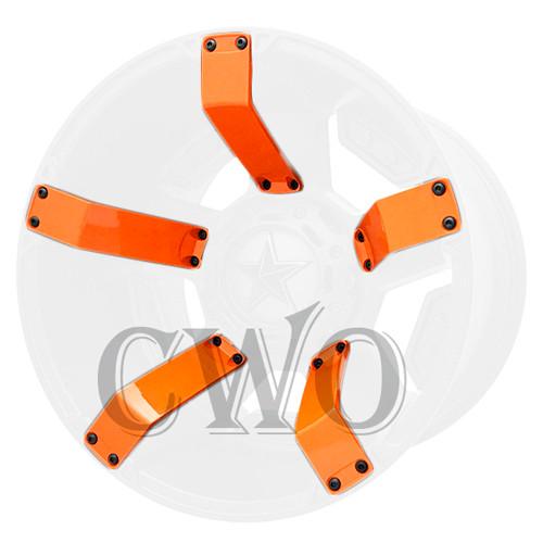 XD Series By KMC Wheels XD811 Rockstar 2 Inserts 811FIN29012N-OR