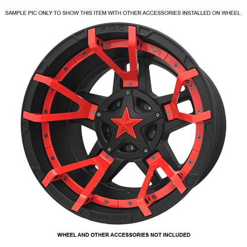XD Series By KMC Wheels XD811 Rockstar 2 Inserts 811FIN29000-RD