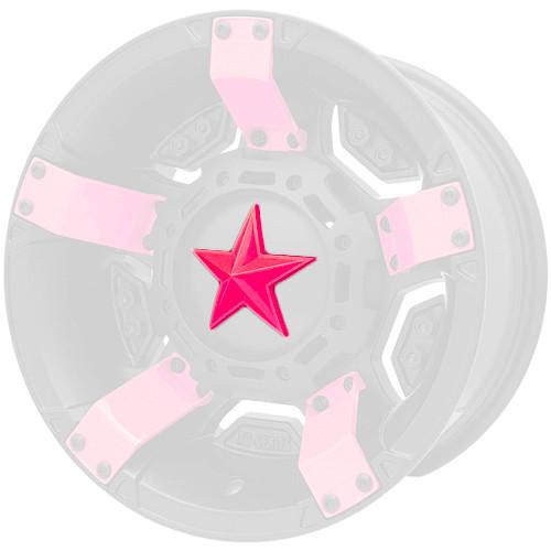 XD Series By KMC Wheels Center Star Emblem XDSTAR-PK-PK