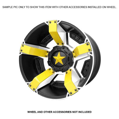XD Series By KMC Wheels XD811 Rockstar 2 Inserts 811FIN89000-YL