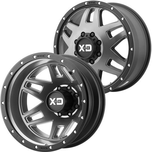 XD Series By KMC Wheels XD130 Machete Dually XD130275904-6