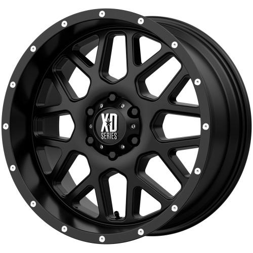 XD Series By KMC Wheels XD820 Grenade XD82021268744N