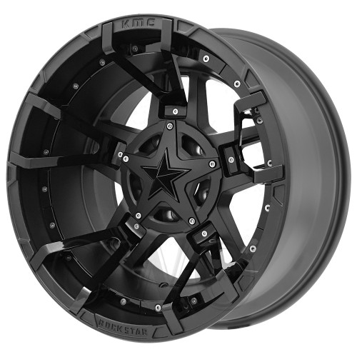 XD Series By KMC Wheels XD827 Rockstar 3 XD82789078700SSGBNC