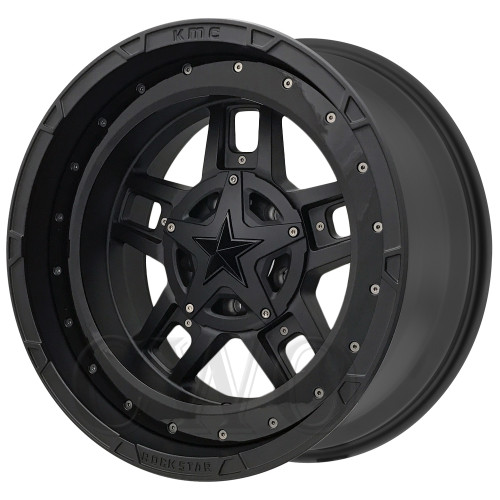 XD Series By KMC Wheels XD827 Rockstar 3 XD82721080724NBRGBNC