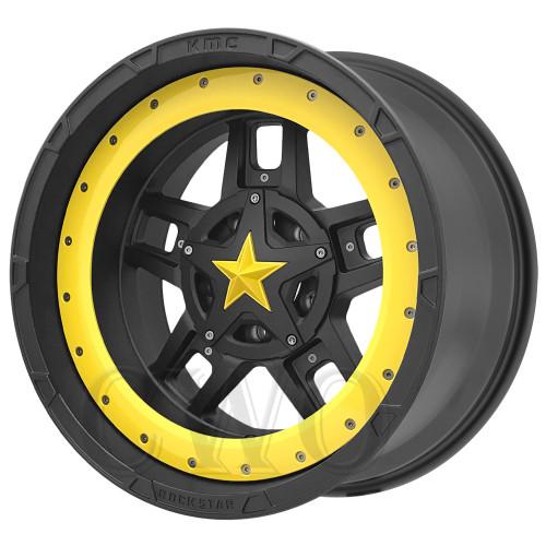 XD Series By KMC Wheels XD827 Rockstar 3 XD82721087724NBRYL