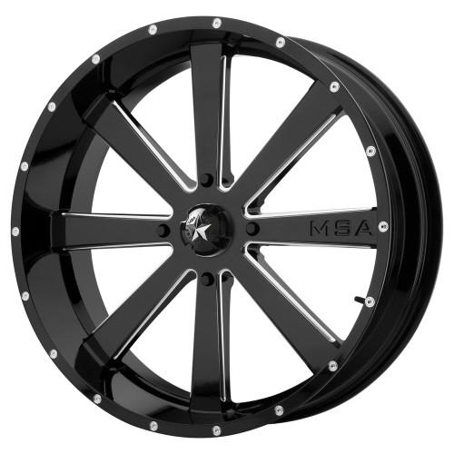 MSA Offroad Wheels M34 Flash M34-020737M