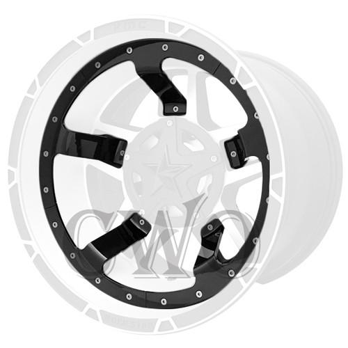 XD Series By KMC Wheels XD827 Rockstar 3 Mid Spoke Inserts 827MS222-GB