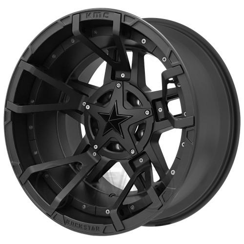 XD Series By KMC Wheels XD827 Rockstar 3 XD82789078700SSMBNC