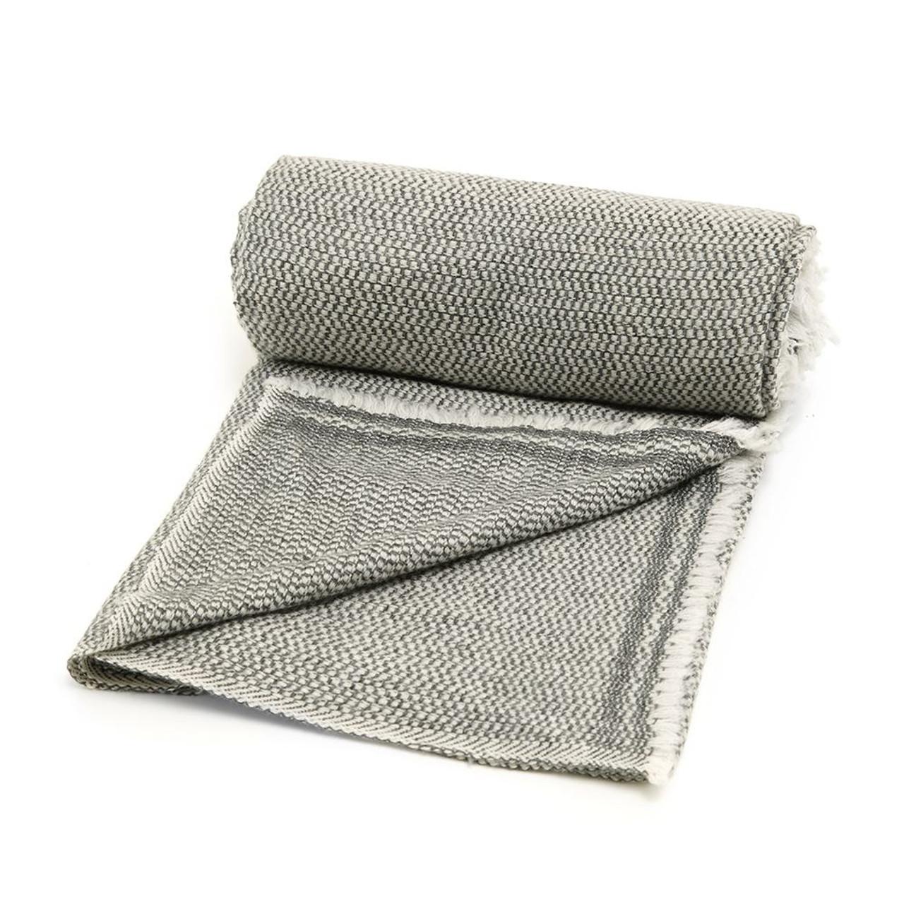 Image of: Cashmere Blanket Black Cashmere