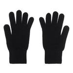 Cashmere Gloves, Ladies, Black