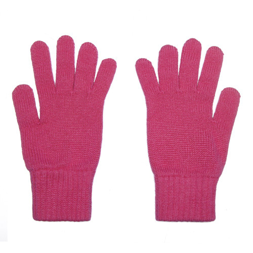 Cashmere Gloves, Pink