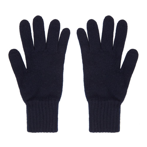 Cashmere Gloves, Navy