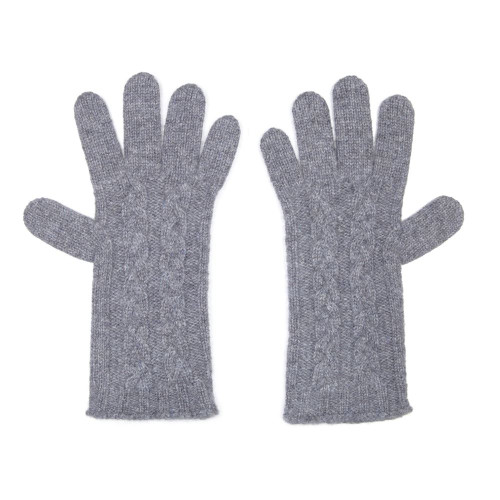Cashmere Cable Gloves, Derby