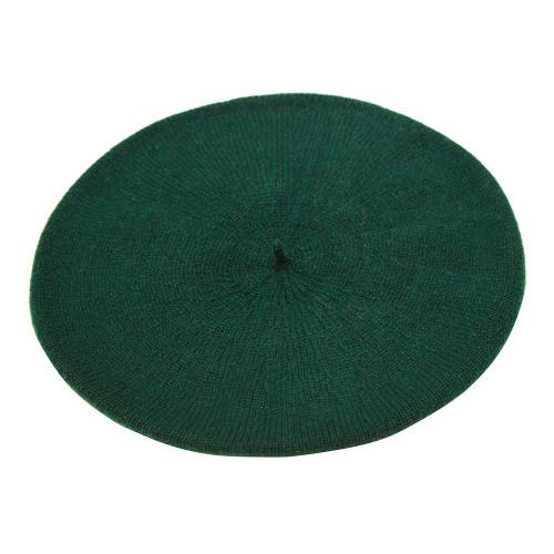 Cashmere Beret, Green