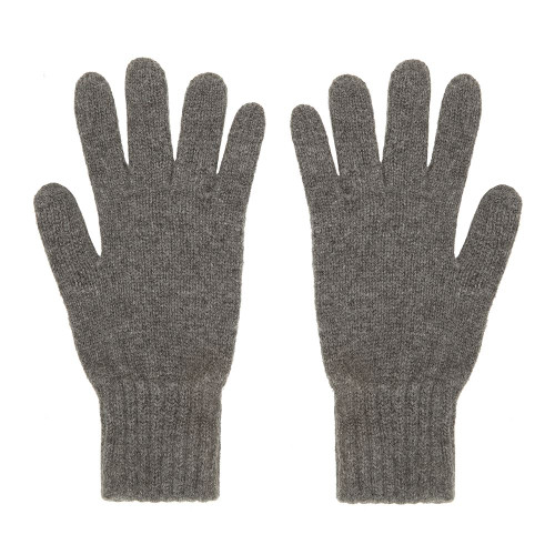 Cashmere Gloves, Grey
