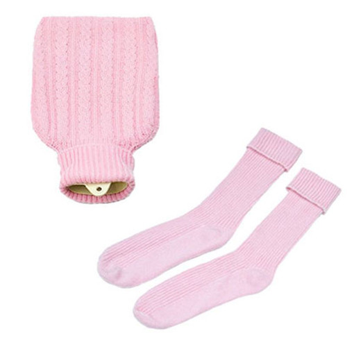 Hottie and Socks Set, Pink