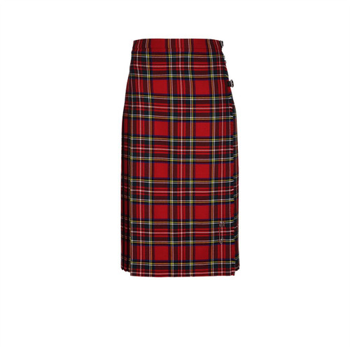 Ladies Pure Wool Kilt, Long, Royal Stewart